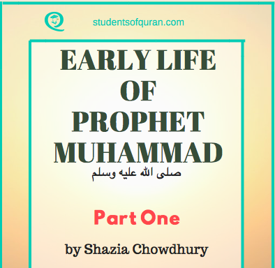 Early Life of Prophet Muhammad pbuh – Part 1