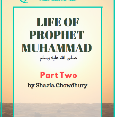 Life of Prophet Muhammad pbuh – Part 2